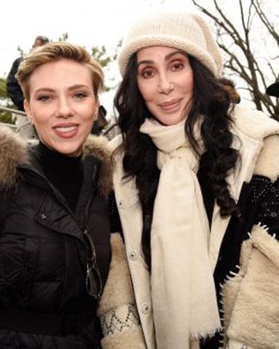 Scarlett Johannson & Cher